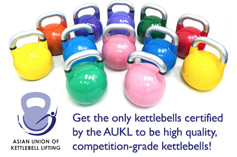 Get your Kettlebell today!
